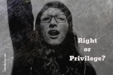 Answer Me This: Right vs Privilege