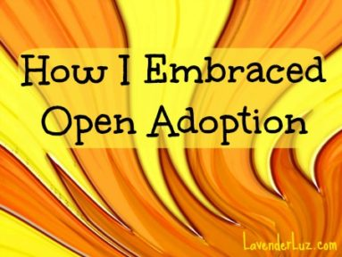 how i embraced open adoption