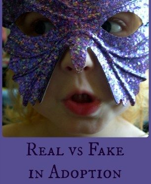 "What Does ""Real"" Mean: Adoption Talk with My Daughter"