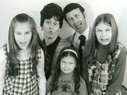 my family in the 1970s