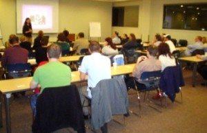 Lori Holden leads open adoption workshop