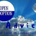 open adoption advice