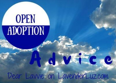 The Launch of an Open Adoption Advice Column