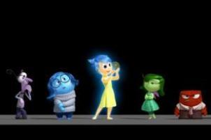 Disney Pixar InsideOut emotions