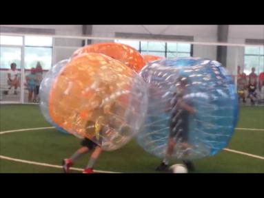 Bubble Soccer. BAM!