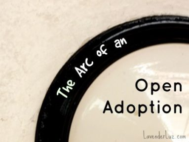 how does open adoption change over time?