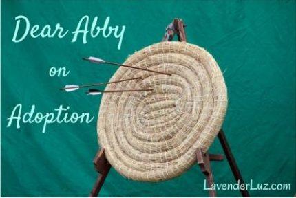 Dear Abby adoption questions