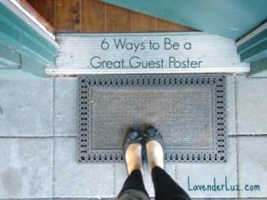 how to guest post on a blog or site