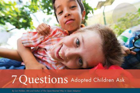 questions adopted children ask