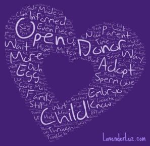 donor gametes & open adoption
