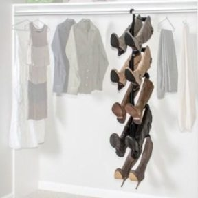 closet organizer for boots
