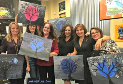 gno blue moon painting