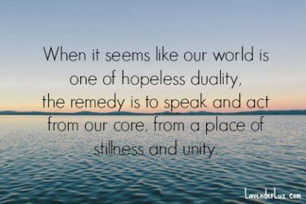 Stillness in Contention