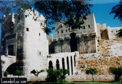 aleppo citadel before war