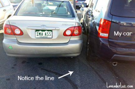 park like an idiot