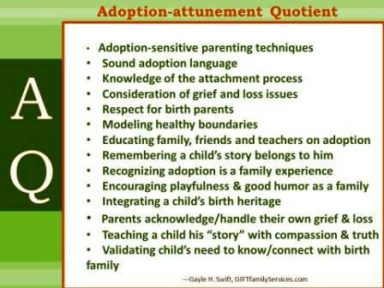 aduption attuned quotient AAQ