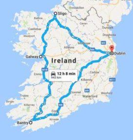 family travel to ireland