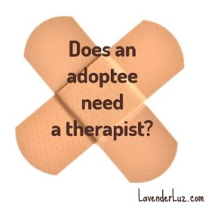 therapy for adopted child