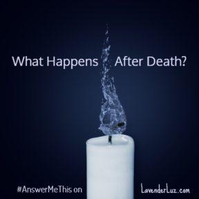 extinguished candle symbolizing death