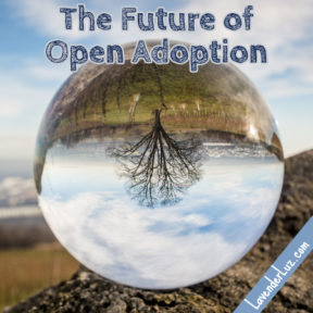 crystal ball showing future of adoption