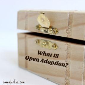 open box symbolizing open adoption