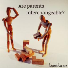are parents interchangeable