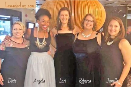 dixie weber, angela tucker, lori holden, rebecca vahle, janelle ison at angels in adoption gala