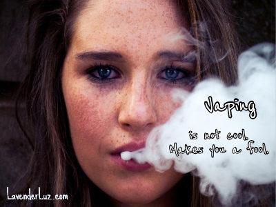 Vaping & Teens -- MY Teens | Lavender Luz