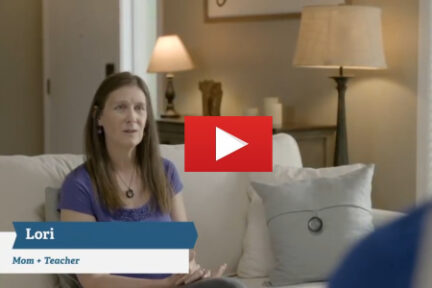 Lori Holden on YouTube with TobaccoFreeCO