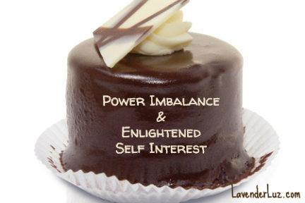 chocolate cake & power imbalance