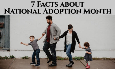 7 Facts about National Adoption Month Two parents and two children