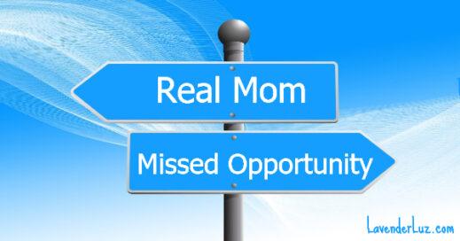 """I Want My Real Mom!"" — says Sara Easterly"