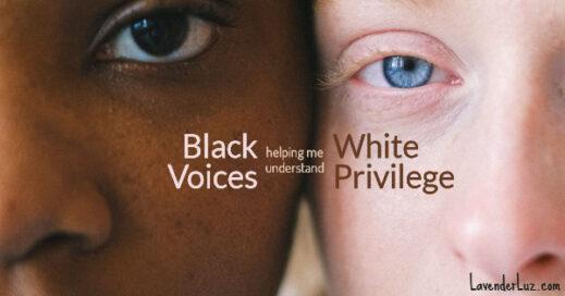 my white privilege