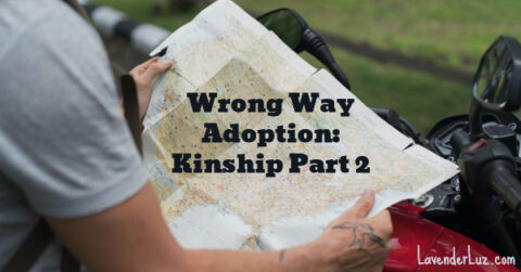 People in kinship adoptions need a map, too. Or they may go the wrong way.