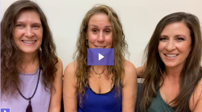 Updated in 2020! 3 Sisters  Singing in 3-Part Harmony about Peace with Love & Joy
